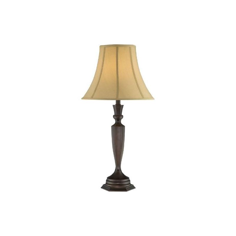 Lite Source LSF-22132 Dermot 1 Light Table Lamp Dark Bronze Lamps Sale $130.00 ITEM: bci2437036 ID#:LSF-22132 UPC: 88675455158 :