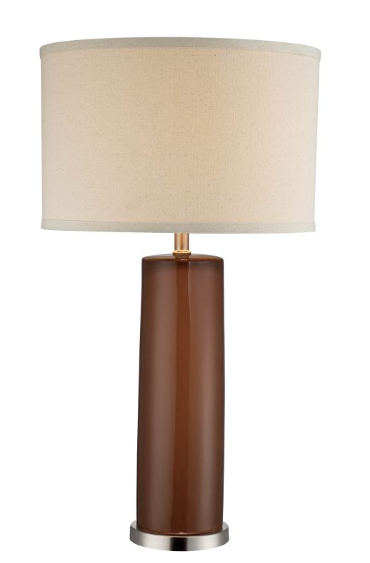 Lite Source LSF-22234COFFEE Cigar 1 Light Table Lamp Coffee Lamps Sale $109.00 ITEM: bci2176273 ID#:LSF-22234COFFEE UPC: 88675456766 :