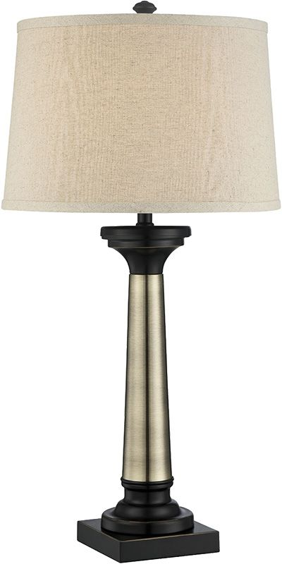 Lite Source LSF-22492 Peyton 1 Light Table Lamp with Beige Fabric Sale $125.00 ITEM: bci2566704 ID#:LSF-22492 UPC: 88675460794 :