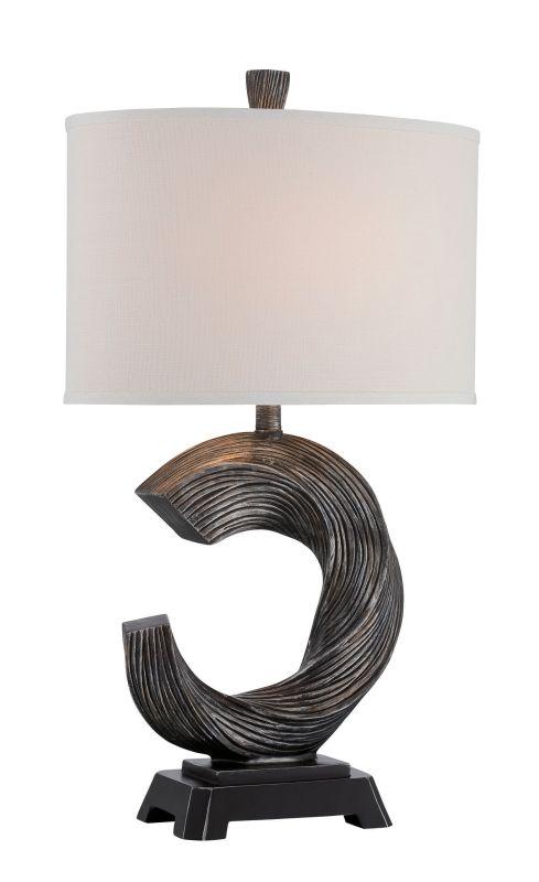 Lite Source LSF-22656 Trisha 1 Light Table Lamp Brushed Bronze Lamps