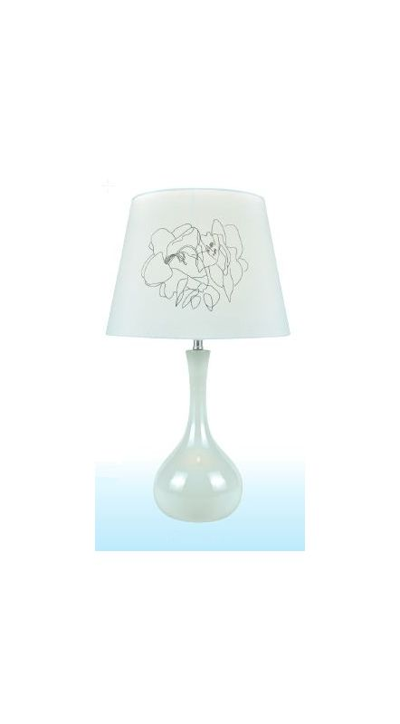 Lite Source LS-22113 Siani 1 Light Table Lamp White Lamps