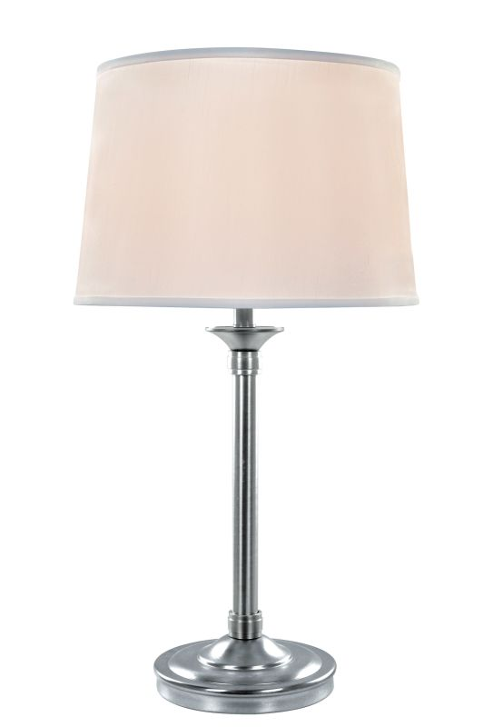 Lite Source LS-22193 Newton 1 Light Table Lamp Polished Steel /