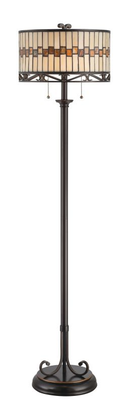 Lite Source C61154 Two Light Up / Down Lighting Floor Lamp with