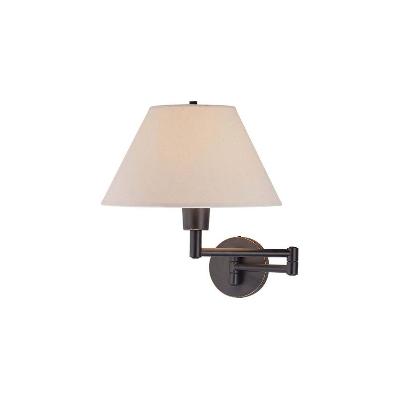 Lite Source LS-1171 Single Light Up Lighting Swing Arm Wall Sconce Sale $110.00 ITEM: bci1157503 ID#:LS-1171D/BRZ UPC: 88675442172 :