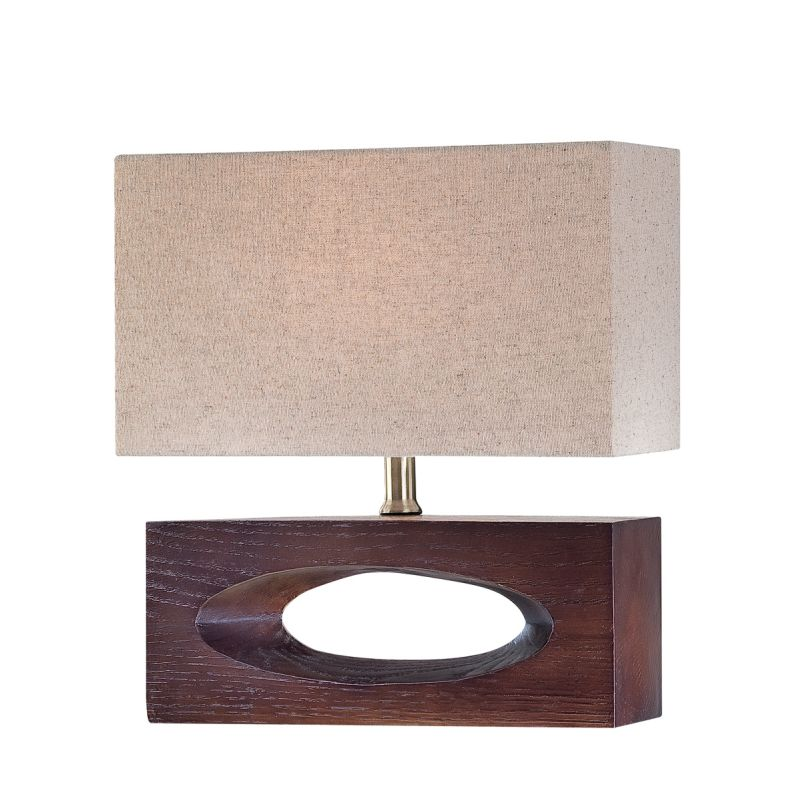 Lite Source LS-21618 Single Light Up / Down Lighting Table Lamp with