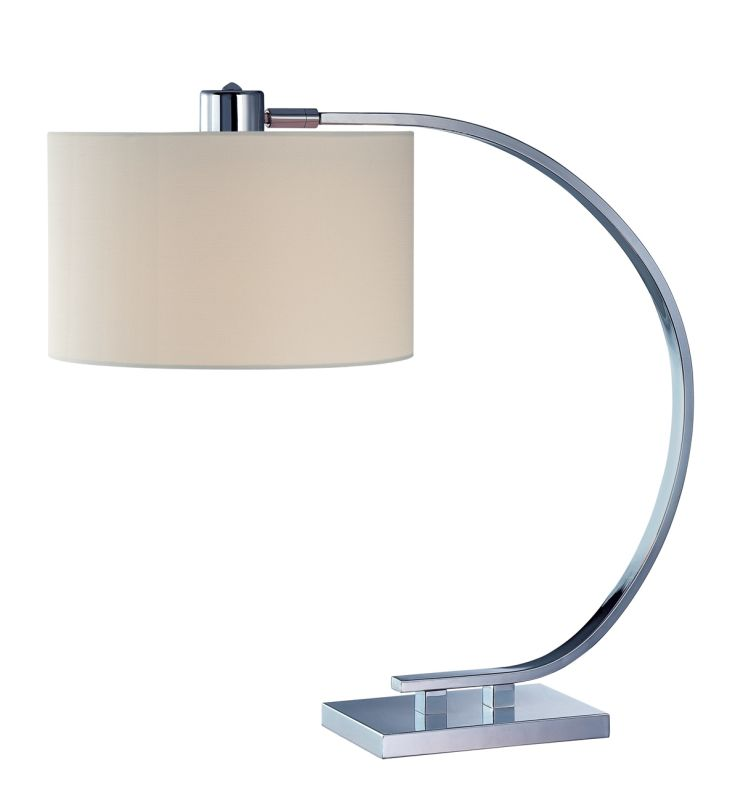 Lite Source LS-21652 Single Light Down Lighting Table Lamp with White