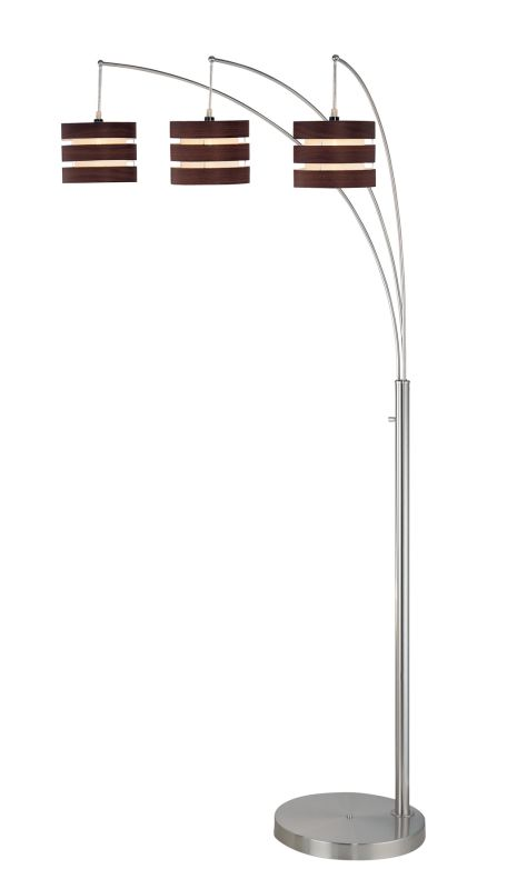 Lite Source LS-80708 Three Light Down Lighting Floor Lamp from the