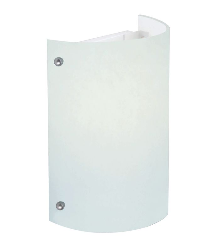 Lite Source LS-16297FRO 1 Light Fluorescent Wall Sconce with Frost