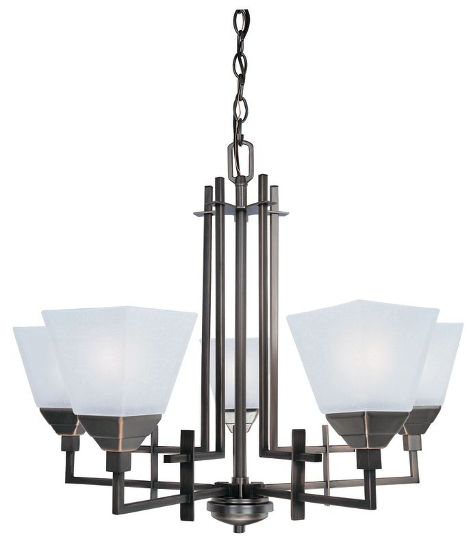 Lite Source LS-19765 5 Light Ceiling Lamp with Frost Glass Shade from Sale $313.00 ITEM: bci1347197 ID#:LS-19765 UPC: 88675432425 :