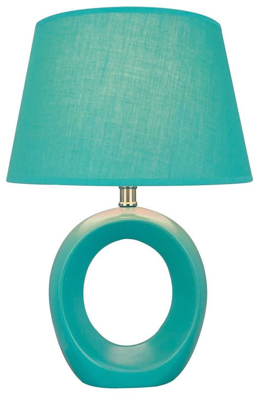 Lite Source LS-20585 Table Lamp from the Viko Collection Blue Lamps