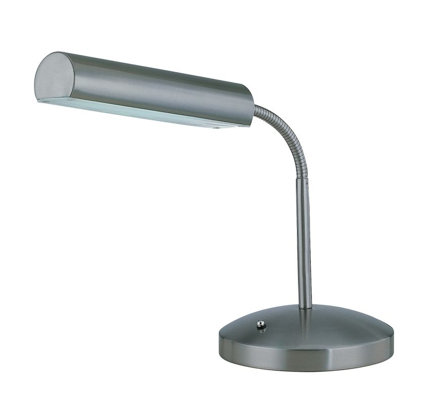 Lite Source LS-20925PS 1 Light Fluorescent Desk Lamp from the Broden