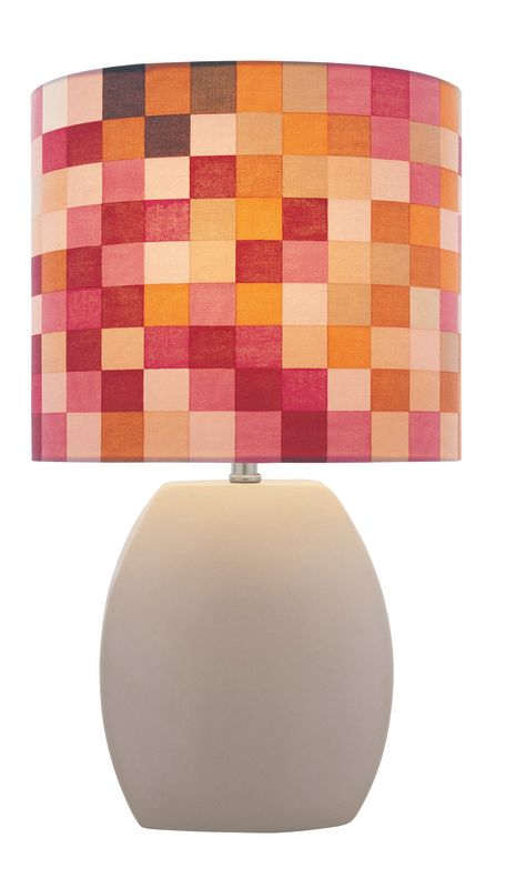 Lite Source LS-21506 Ceramic Table Lamp from the Reiko Collection