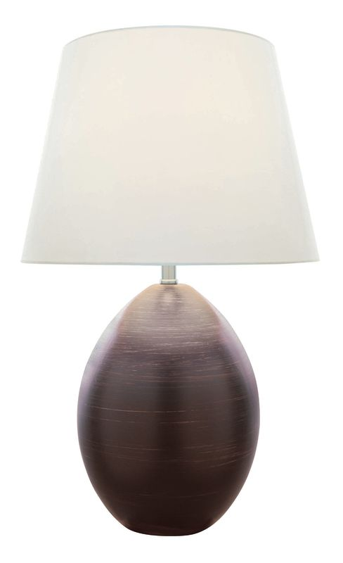 Lite Source LS-21507 Ceramic Table Lamp from the Koen Collection Dark
