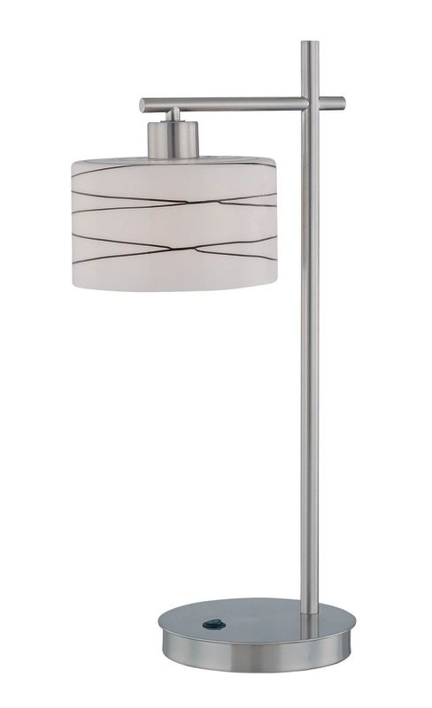 Lite Source LS-21513 1 Light Table Lamp from the Lenza Collection