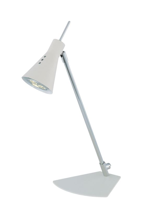 Lite Source LS-21563 Led Desk Lamp from the Leivik Collection White