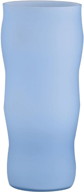 Lite Source LS-3522 Glass Vase Light from the Rainbow Collection Blue