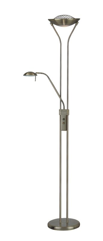 Lite Source LS-80984 Torchiere / Reading Lamp from the Duality II