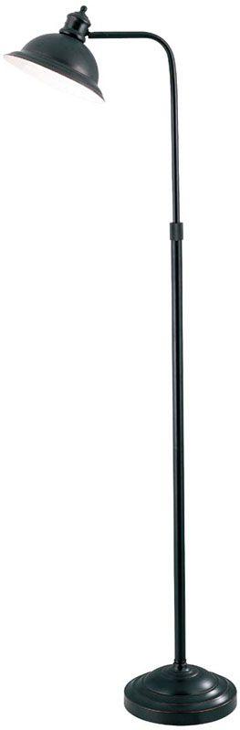 Lite Source LS-8550 Adjustable Metal Floor Lamp from the Minuteman