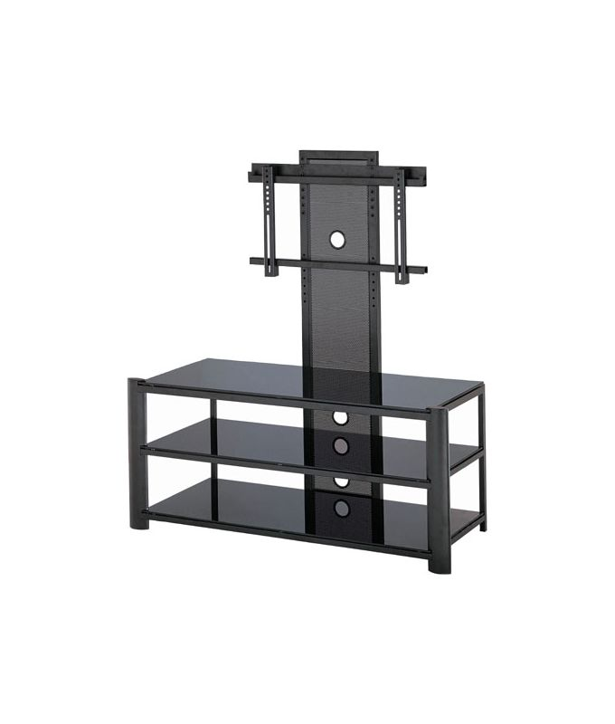 Lite Source LSH-5612 3 Tier TV Stand Silver / Clear Glass from the Sale $370.48 ITEM: bci1348932 ID#:LSH-5612BLK UPC: 88675430285 :