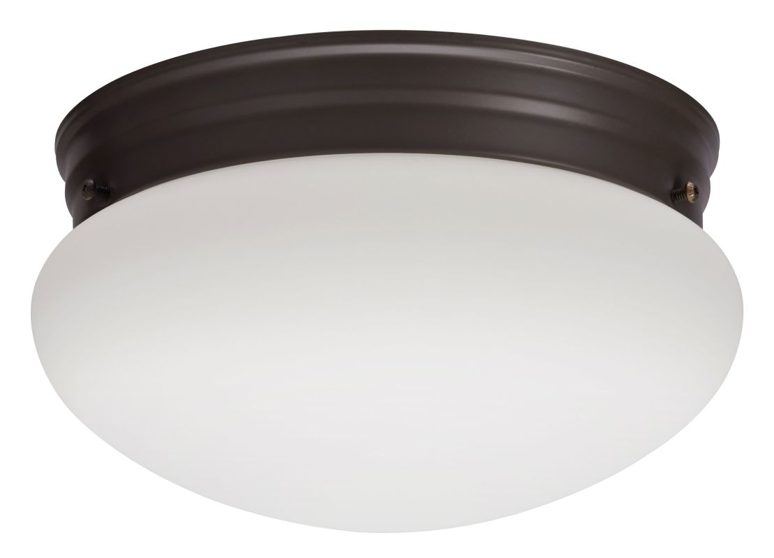 Lithonia Lighting 10976 1 Light Flush Mount Ceiling Fixture from the