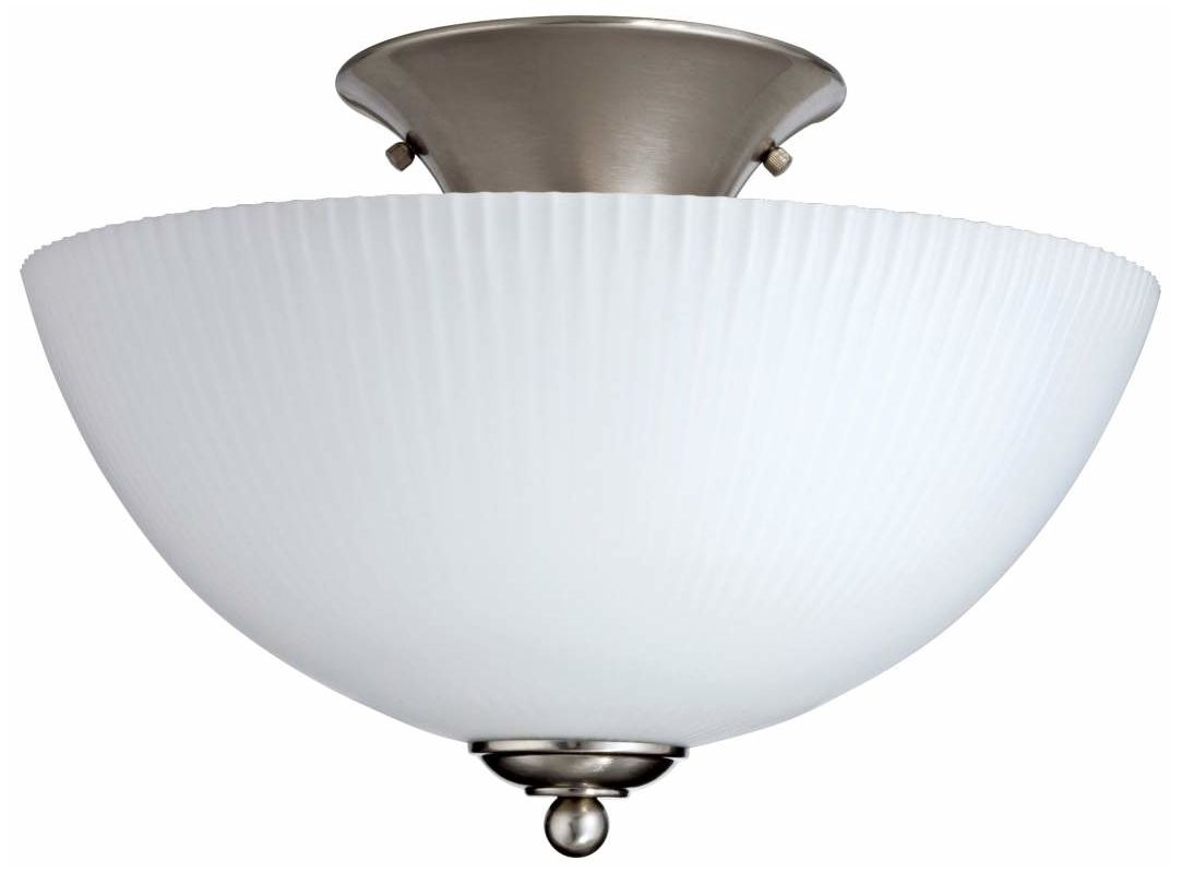 "Lithonia Lighting 11544 13-1/8"" Energy Star Single Light Semi Flush"