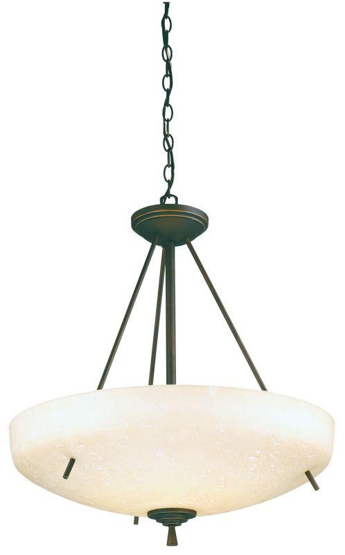 Lithonia Lighting 11538 Ferros Large Bowl Pendant Antique Bronze