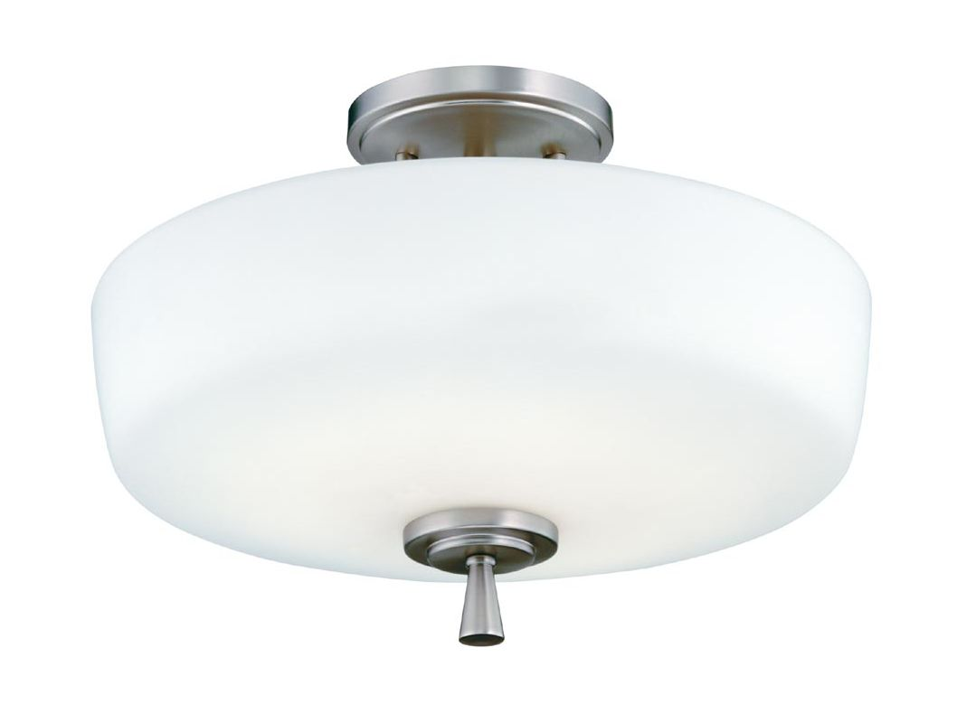 Lithonia Lighting 11530 Ferros Dual Mount Ceiling Fixture Polished