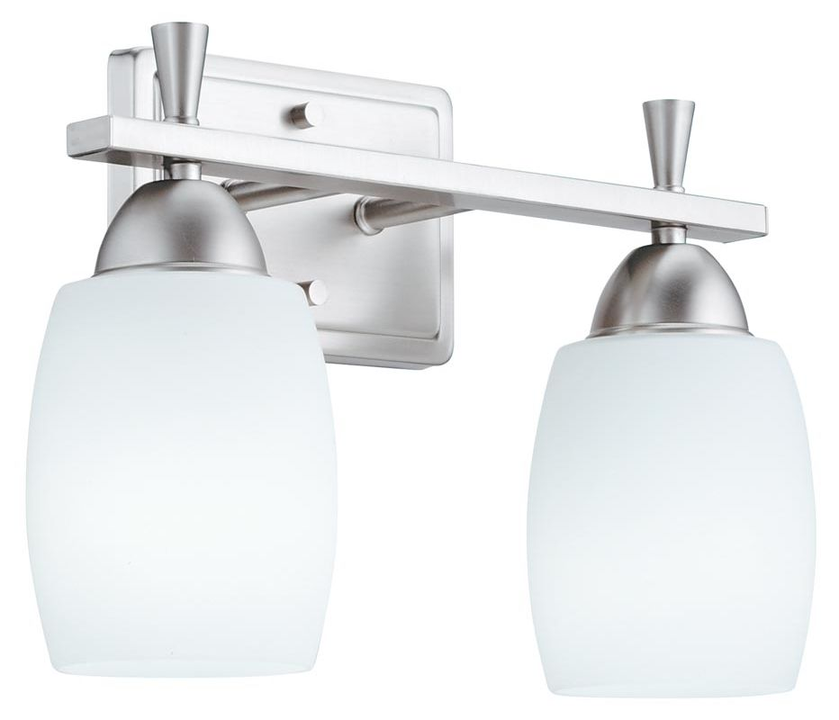 "Lithonia Lighting 11532 14.25"" Wide Ferros 2 Light Vanity Polished Sale $94.88 ITEM: bci1589475 ID#:11532 BN M4 UPC: 784231184608 :"