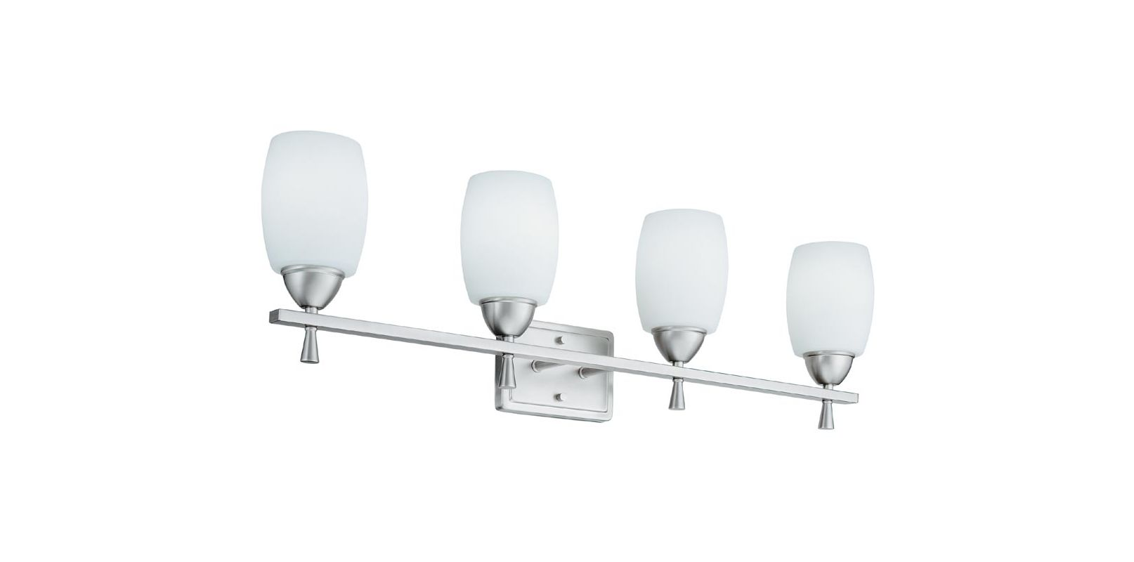 "Lithonia Lighting 11534 33.75"" Wide Ferros 4 Light Vanity Polished Sale $58.46 ITEM: bci1589485 ID#:11534 BN M2 UPC: 784231184646 :"