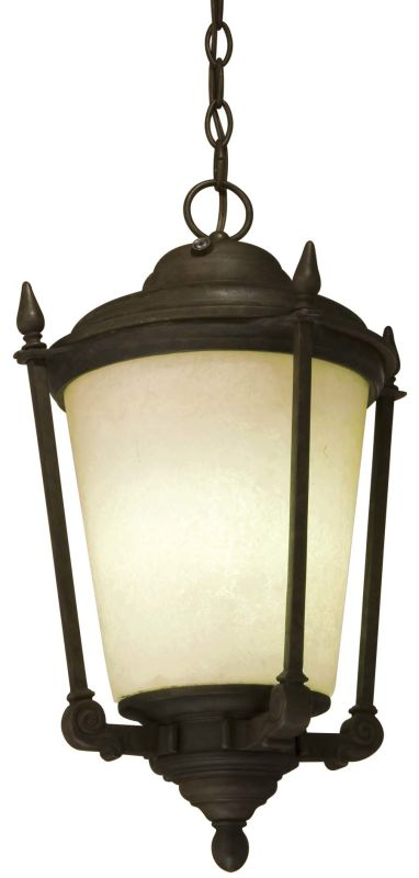 Lithonia Lighting ODLP12 Kingsly outdoor Pendant with Dusk to Dawn