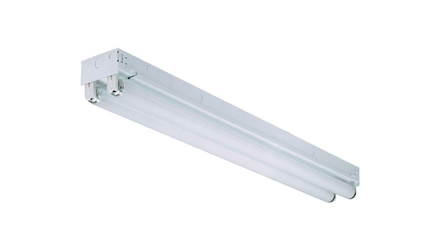 "Lithonia Lighting C 2 32GESB 48"" Two-Light Linear Fluorescent Strip"