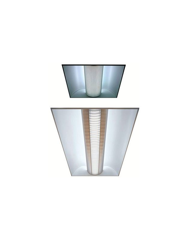 Lithonia Lighting 2AV G 3 17 MDR MVOLT 1/3 GEB10IS 3 Light Linear