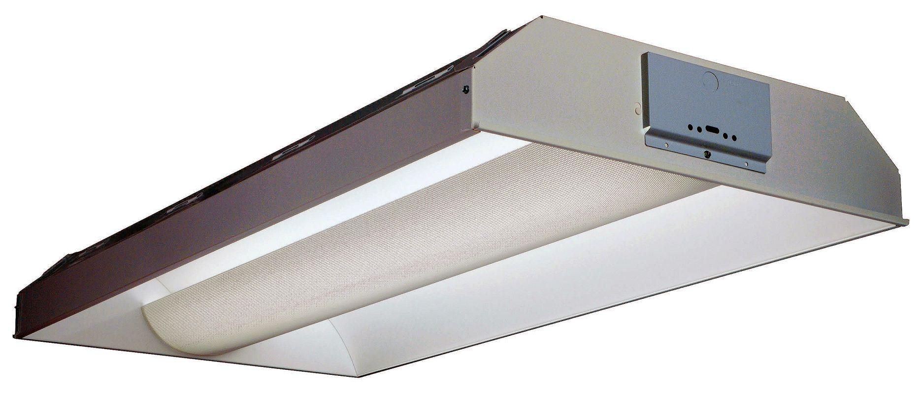 "Lithonia Lighting 2AV G 3 32 MDR MVOLT GEB10IS 3 Light 48"" Fluorescent"