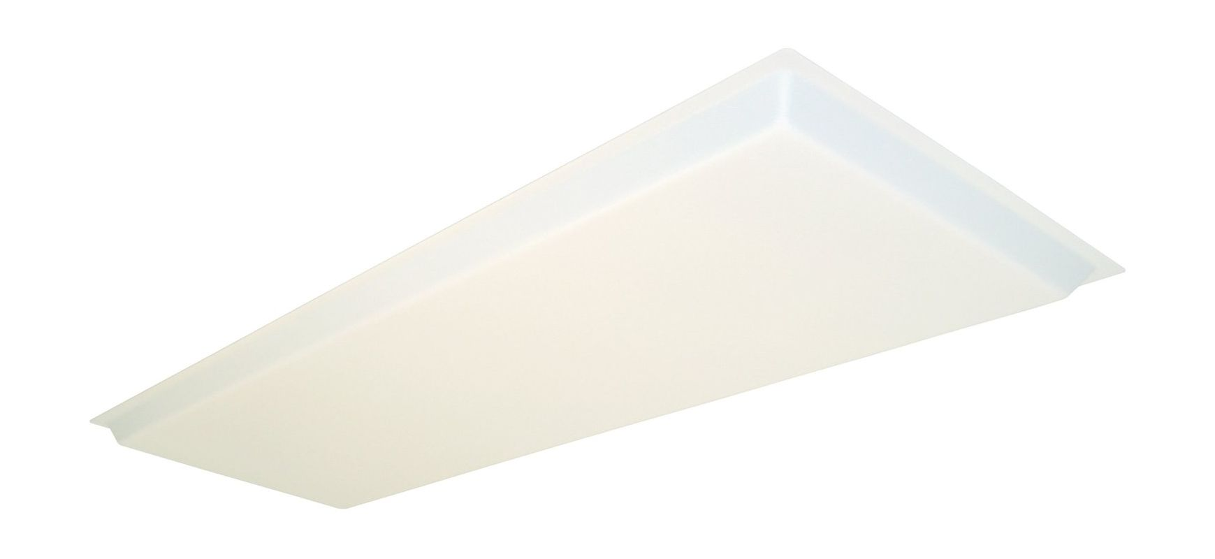 "Lithonia Lighting D15SBDDROP 16"" x 48"" Dropped Diffuser White"