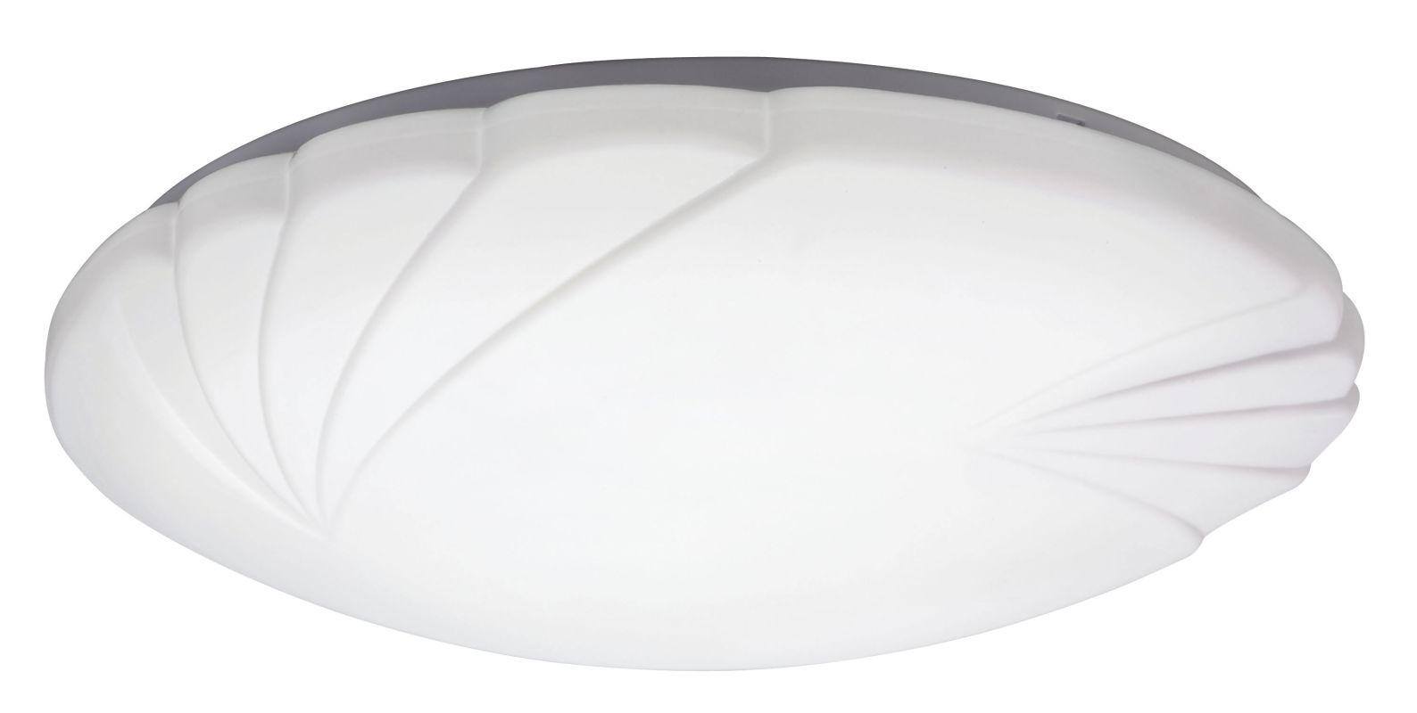 """Lithonia Lighting FMCRNL 14 20840 M4 Crenelle 14"""" Flush Mount 4000K"""