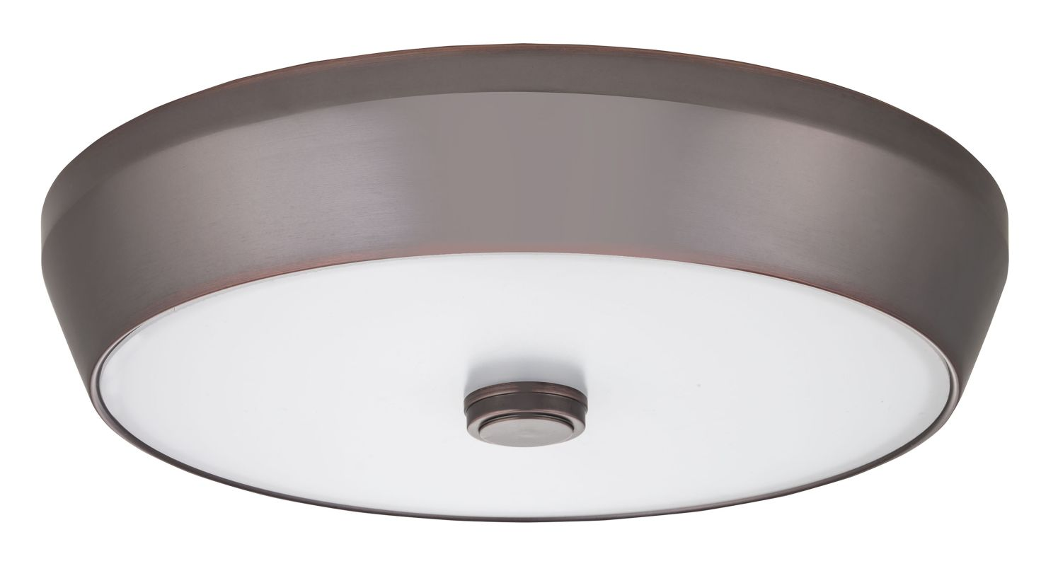 "Lithonia Lighting FMDDHL 14 20840 M4 Denon 15"" Flush Mount 4000K LED"