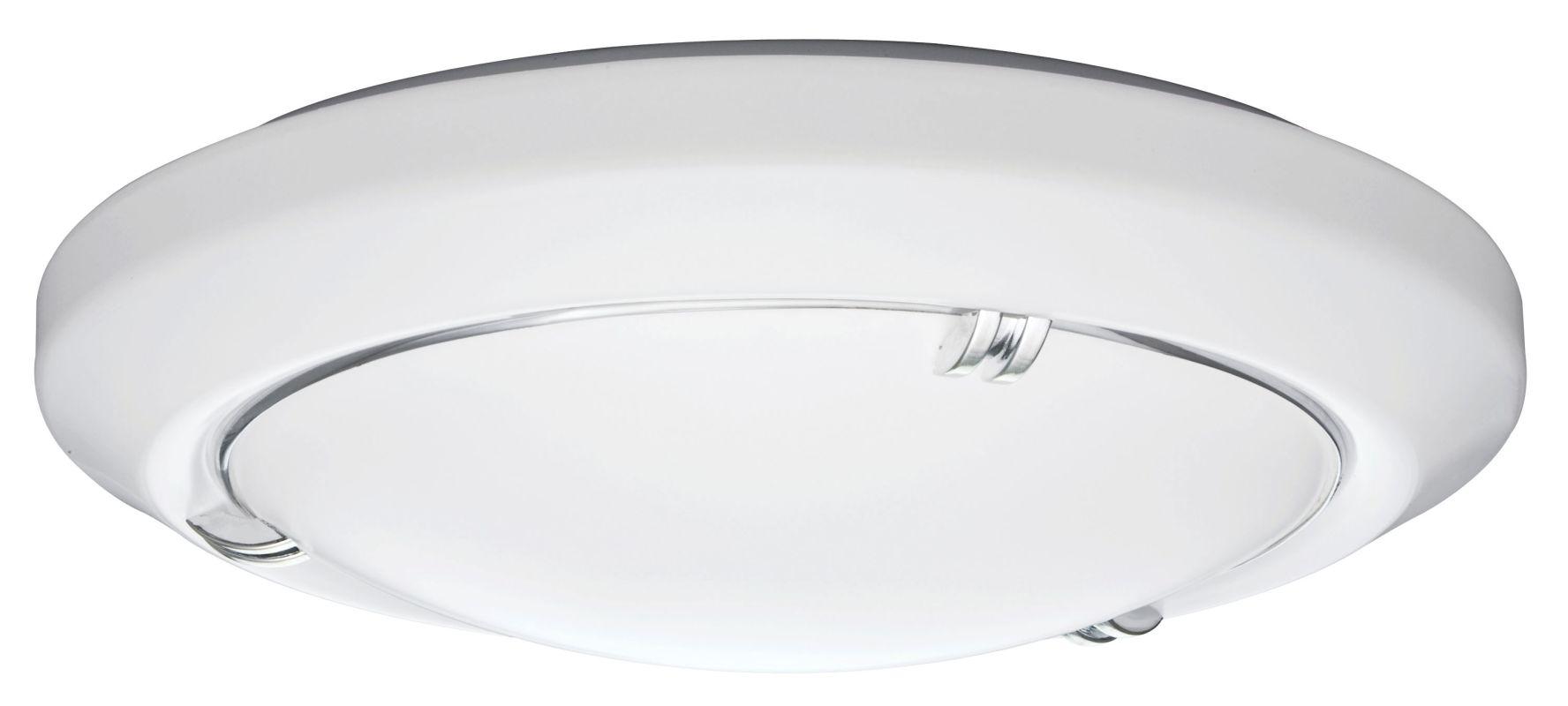 """Lithonia Lighting FMVELL 14 20840 M4 Vela 14"""" Flush Mount 4000K LED"""