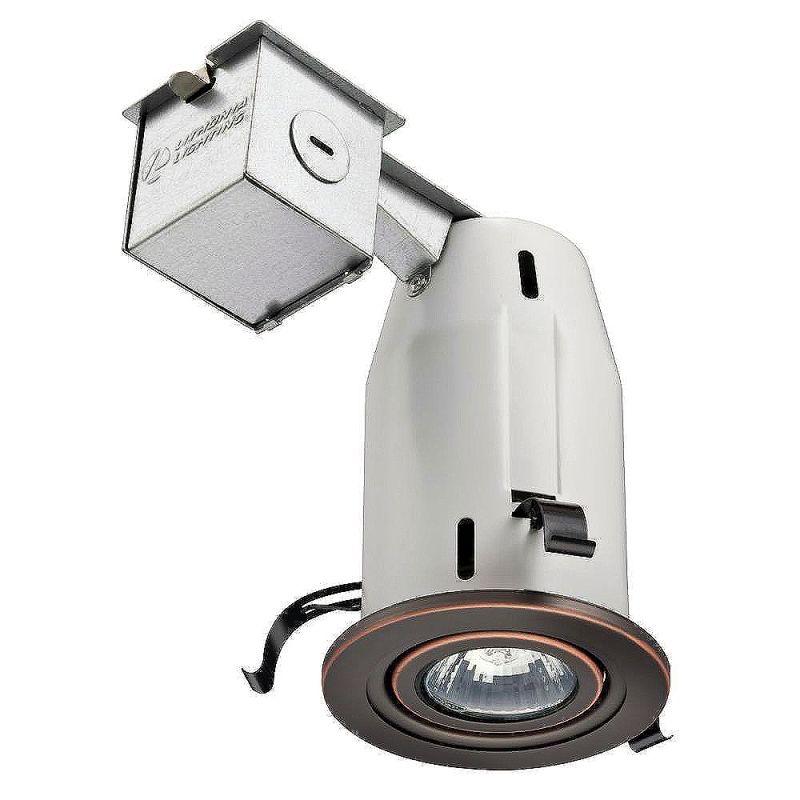 Lithonia Lighting LK3GORB LED LPI M6 1 Light LED Recessed Kit Bronze