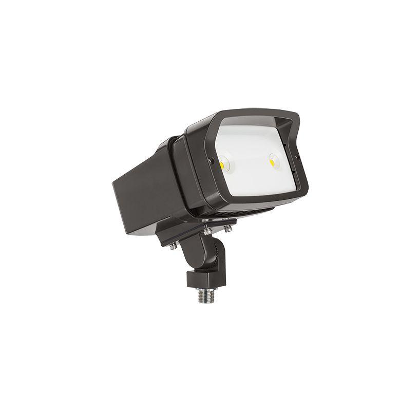 "Lithonia Lighting OFL1 LED P2 50K MVOLT YK M4 Outdoor 7"" Wide 49 Watt"