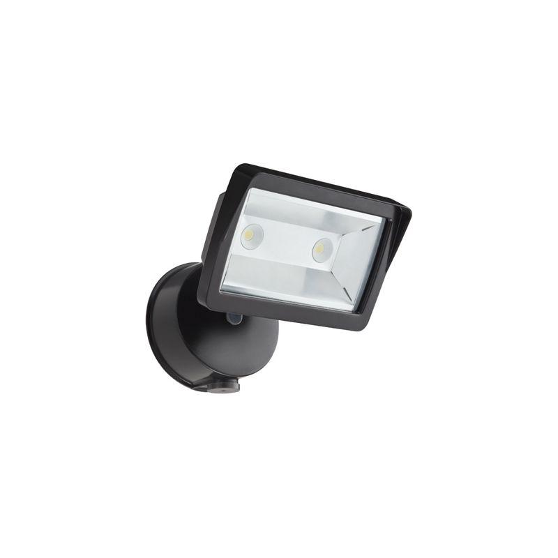 Lithonia Outdoor Security Lighting: Lithonia Lighting OLFL 14 PE BZ M4 Bronze 18 Watt LED