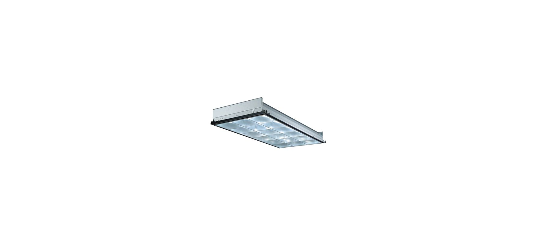 Lithonia Lighting PT3L MV 3 Light Linear Recessed Fluorescent Fixture