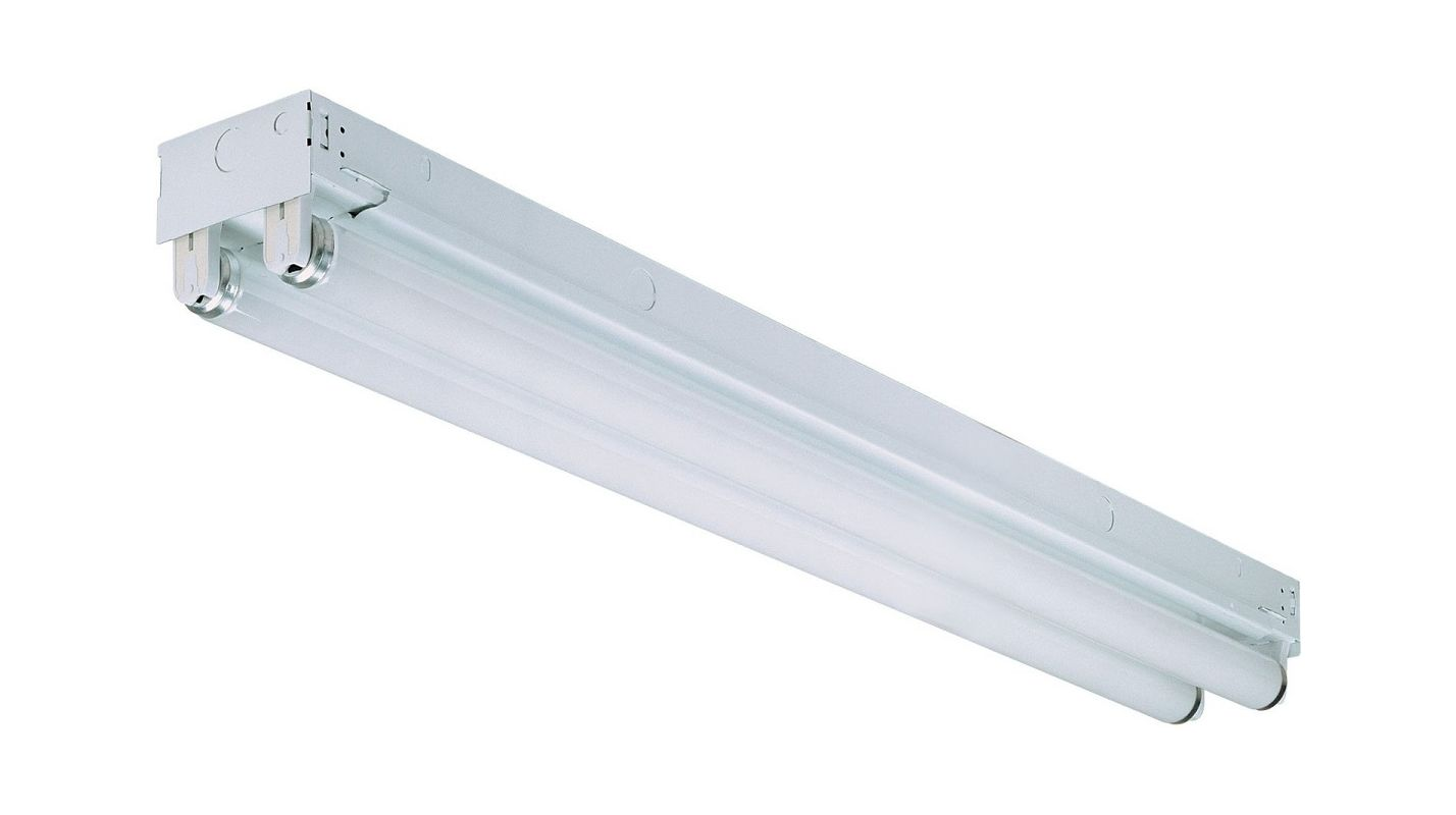 Lithonia Lighting MNS8 2 17 120 RE 2 Light Linear Recessed Fluorescent