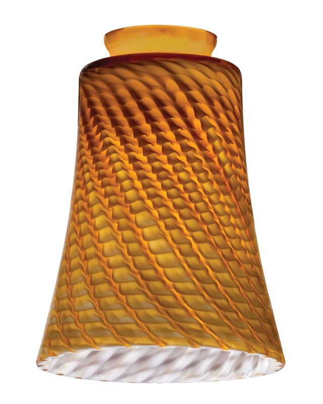 Lithonia Lighting DCBL 1009 M6 Amber Twist Decorative Concave Bell