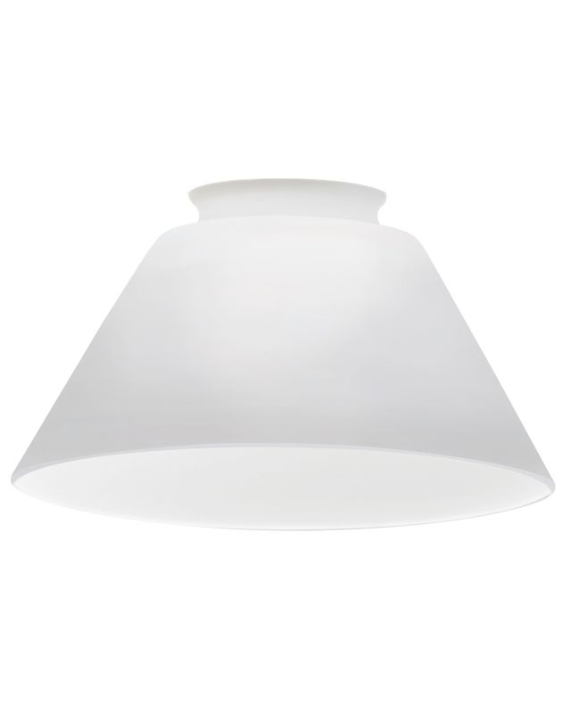 Lithonia Lighting DCNE 1001 M6 Opal White Decorative Cone Shade Opal