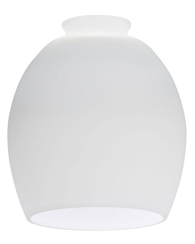 Lithonia Lighting DRBL 1001 M6 Opal White Decorative Ball Shade Opal