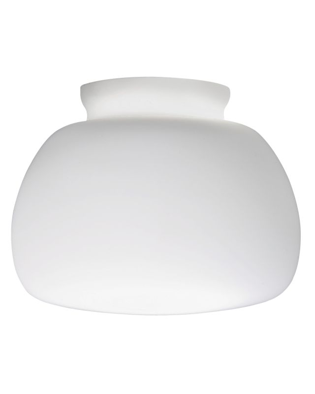Lithonia Lighting DSBL 1001 M6 Opal White Decorative Small Bell Shade