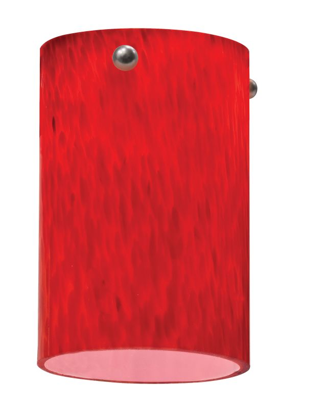 Lithonia Lighting DSCL 1005 M6 Apple Red Decorative Short Cylinder