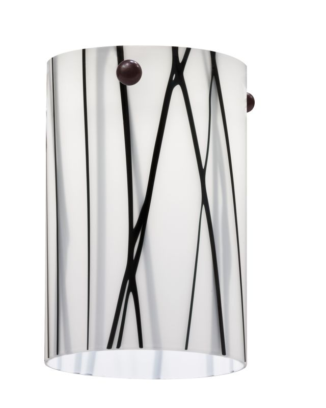 Lithonia Lighting DSCL 1010 M6 White Drizzle Decorative Short Cylinder
