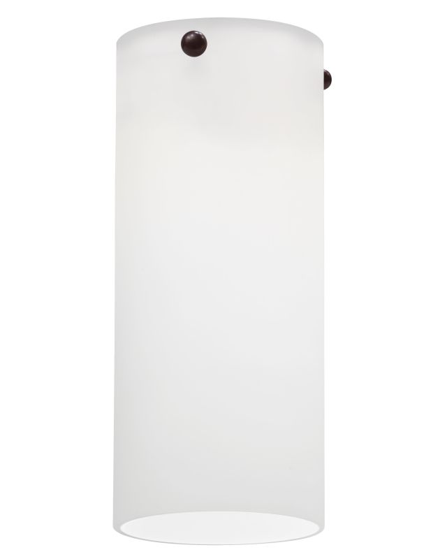 Lithonia Lighting DTCL 1001 M6 Opal White Decorative Tall Cylinder