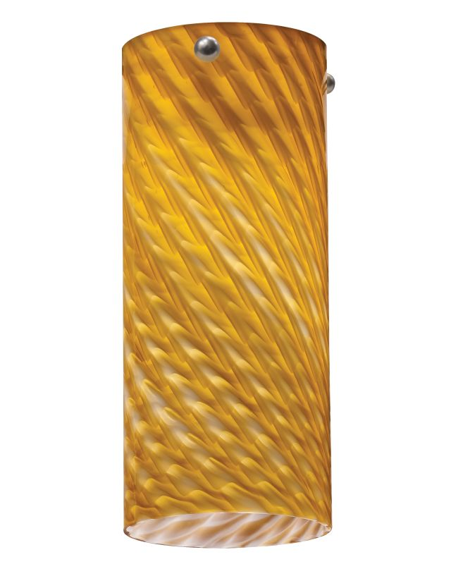 Lithonia Lighting DTCL 1009 M6 Amber Twist Decorative Tall Cylinder